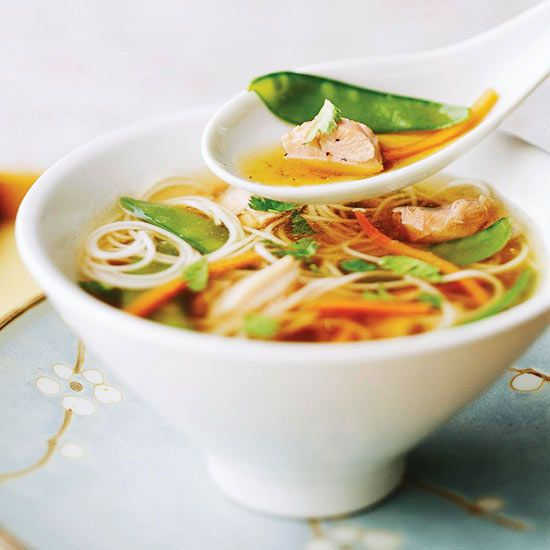 Soy Ginger Soup | Recipe | Chicken noodles, Healthy crockpot recipes ...