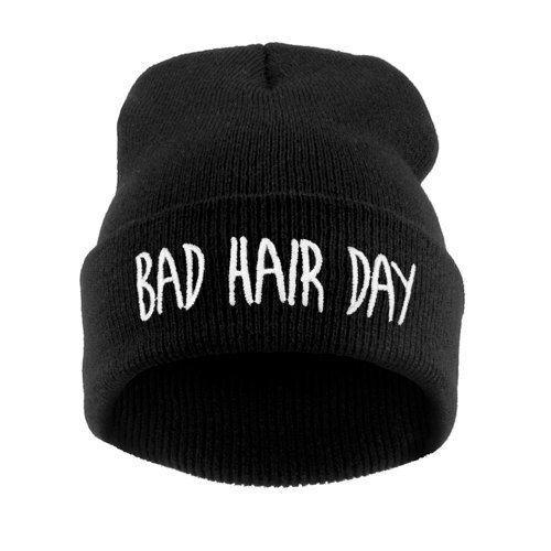 Bad Hair Day Beanie Hat by UniqFashion on Etsy, £6.99