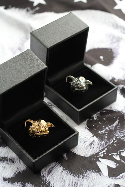 Fashion - THE GAZETTE LIVE TOUR 13 MAGNIFICENT MALFORMED BOX, gold ring, silver ring