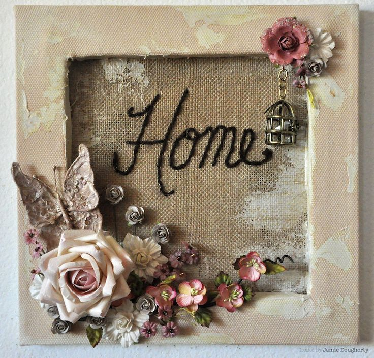 10 best CANVAS IDEAS images on Pinterest | Altered art, Crafts and ...