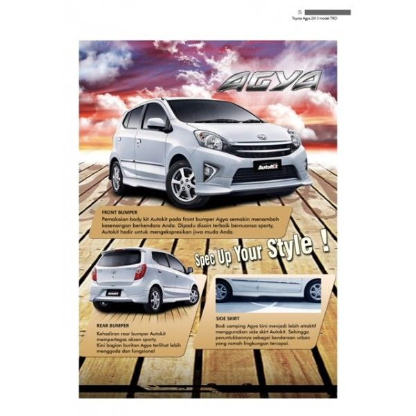 Bodykit Toyota Agya
