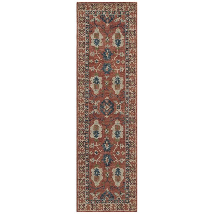 Momeni Rug Tangier Hand Tufted Red Rug