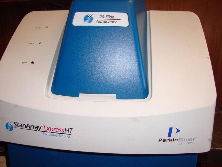 Perkin Elmer ScanArray Express HT Microarray Scanner W/ software & manual #PerkinElmer