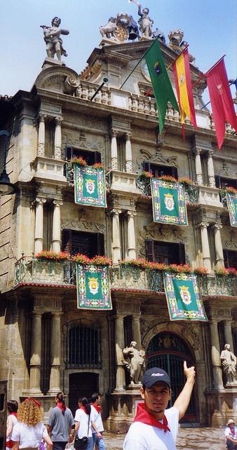 Ayuntamiento de Pamplona en San Fermin