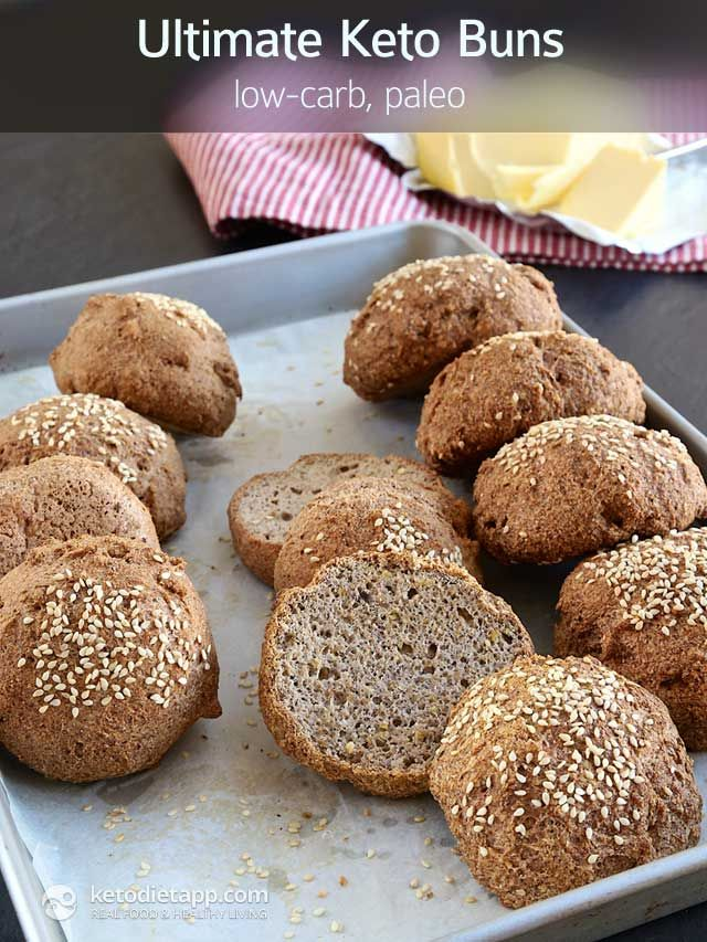 The BEST low-carb bread you'll ever try: Ultimate Keto Buns!