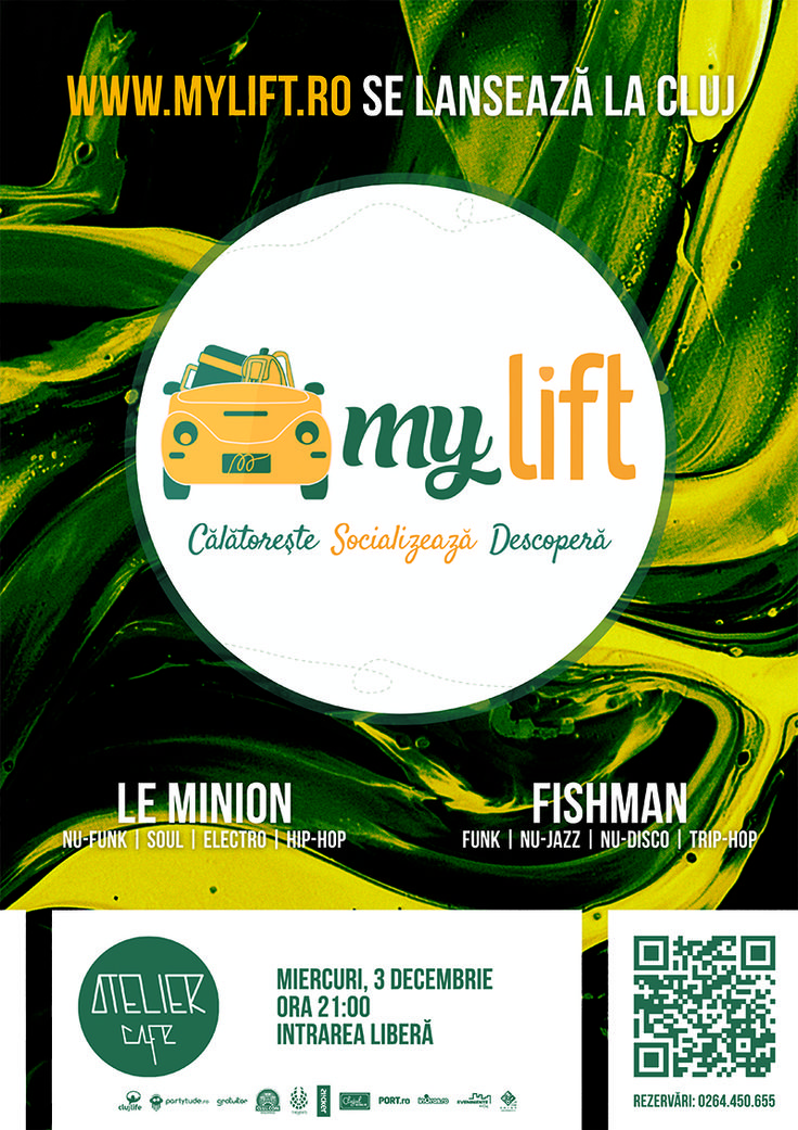 Mylift's release party in Cluj-Napoca.