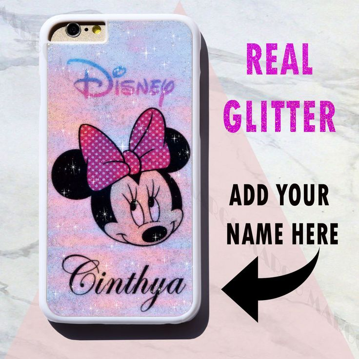 New Real Glitter Personalised Rainbow Bling Sparkle Disney Case Cover for iPhone in Mobile Phones & Communication, Mobile Phone & PDA Accessories, Cases & Covers | eBay!