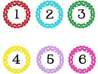FREE Alphabet + Number Sets