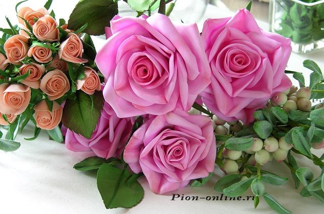 Фоамиран. Мастер класс по созданию венка из роз. Обсуждение на LiveInternet - Российский Сервис Онлайн-Дневников