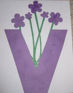 Vase; Vv
