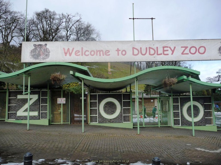 Dudley Zoo, Dudley, West Midlands A favourite day out and long bus trip when we were young. Still going strong today.