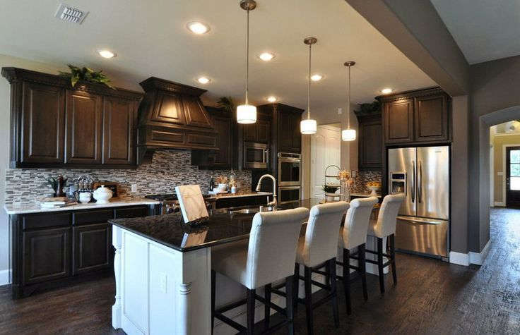 Pulte Homes Interior | The Landings | Allen TX New Homes....ANOTHER  GORGEOUS TO DIE FOR KITCHEN. TAKE A LOOK AT THE CABINETS AND FLOOR,TOP OF  THE Lu2026 ...