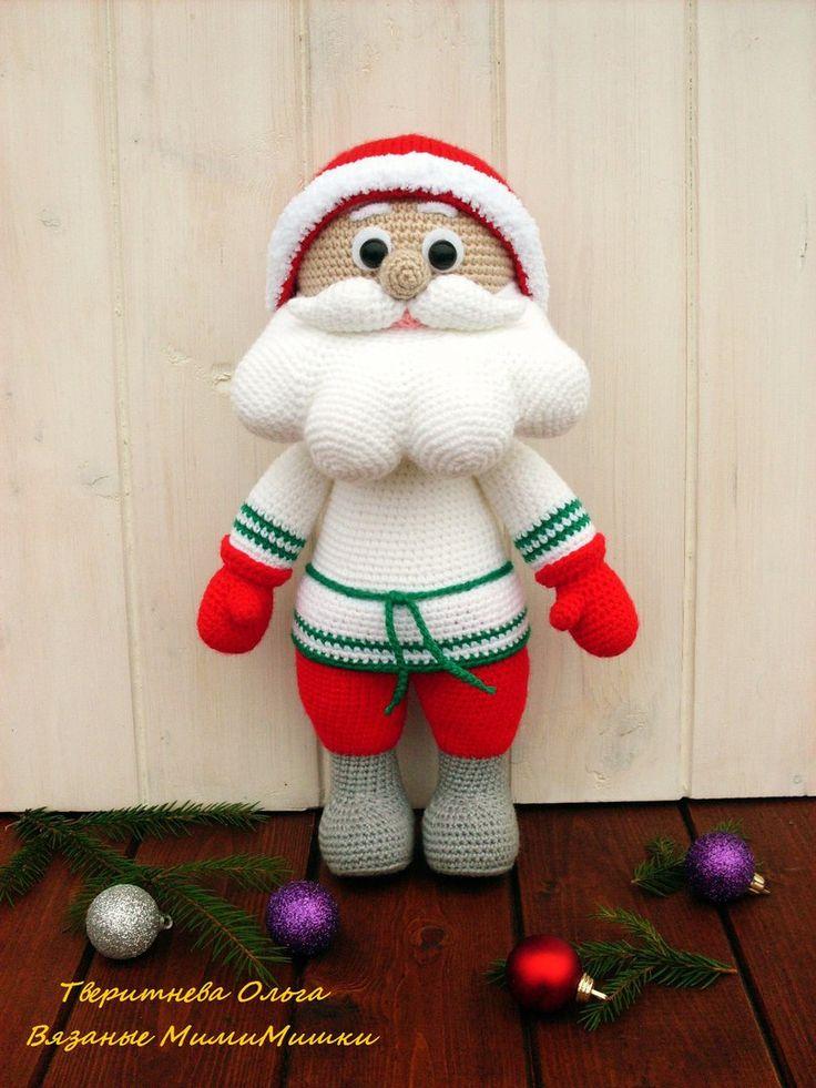 82 besten santa claus (crochet) Bilder auf Pinterest | Weihnachten ...