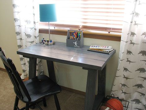 72 best my billy board images on pinterest la la la craft and fall ana white simple small trestle desk diy projects solutioingenieria Choice Image