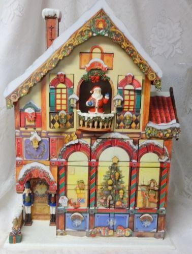 Deluxe Victorian House Christmas Advent Calendar 24 Doors