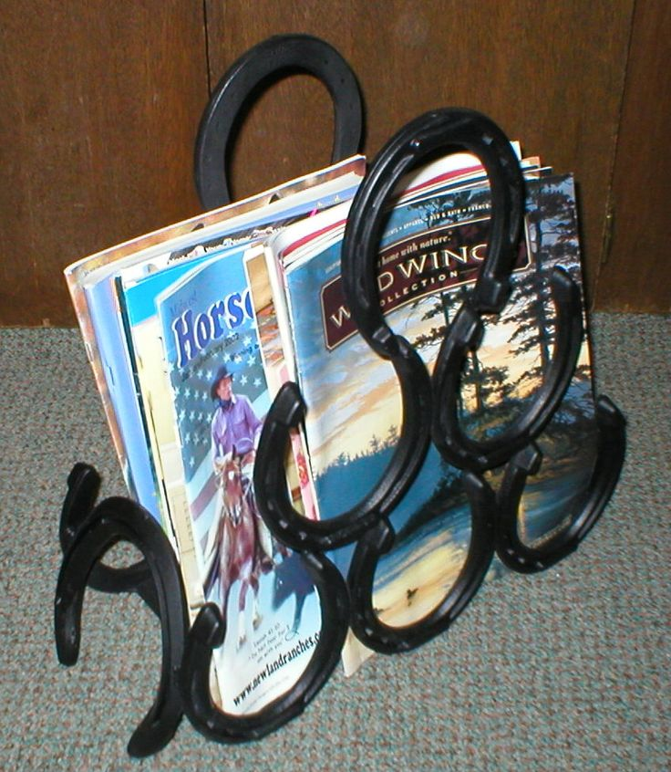 Horseshoe Magazine Holder