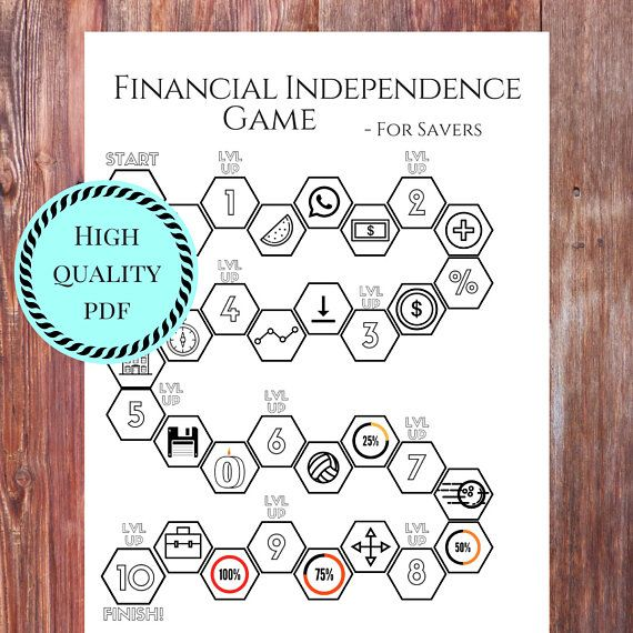 Do you wish there was a way to gamify the path to financial independence? Finally got out of debt and dont know where to go from there? Graduated from Dave Ramseys babysteps and feel like there is something more to it? The Financial Independence game is here to help!