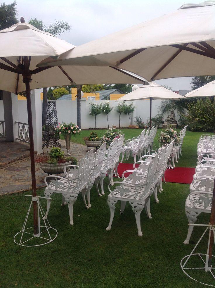 Villa Maria Guest Lodge Gazebo Wedding.