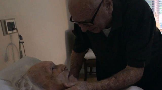 Elderly man serenades dying wife | News  - Home