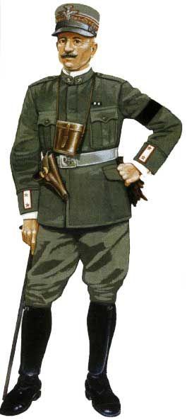Regio Esercito - Maggiore Generale di Cavalleria, 1916