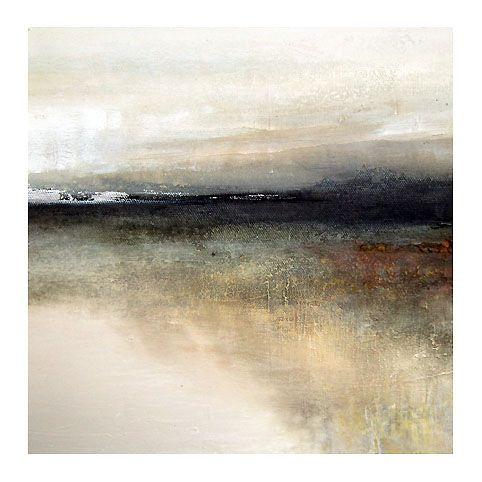 """Headland"" by Susan Cordes - Mixed media on canvas"