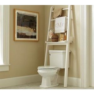 Over The Toilet Ladder Shelf Google Search Shelves