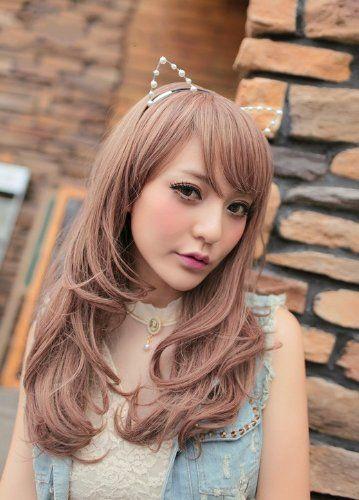 Мода длинные лолита Harajuku парик аниме косплей полные женщины сексуальная естественные волнистые жаропрочных волос парики плутон парикикупить в магазине AIWнаAliExpress