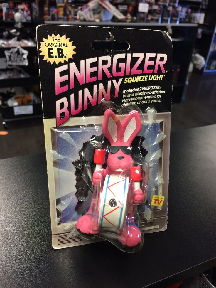 Energizer Bunny Squeeze Light