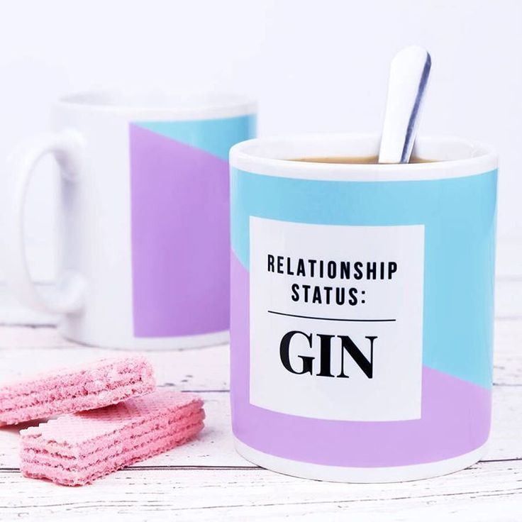 We NEED this gin mug from Notonthehighstreet.com. A great birthday gift for your cocktail loving friends! Click to shop it now.