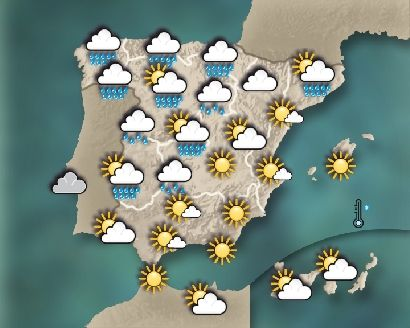 Mapa Del Tiempo En España Mañana My Blog Tiempo En