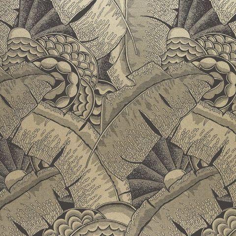 Coco De Mer - Tarnished Gold - Conversationals - Wallcovering - Products - Ralph Lauren Home - RalphLaurenHome.com