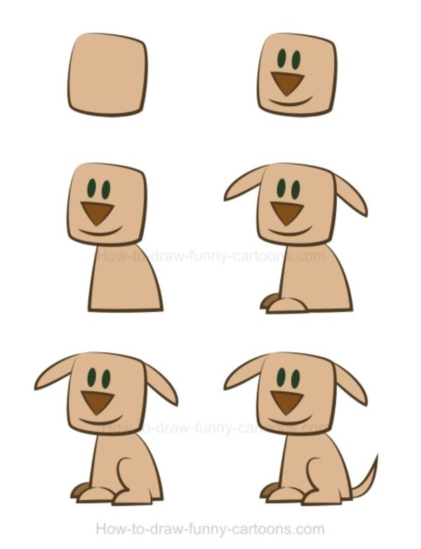 40 Simple Dog Drawing To Follow And Practice Dog Drawing For
