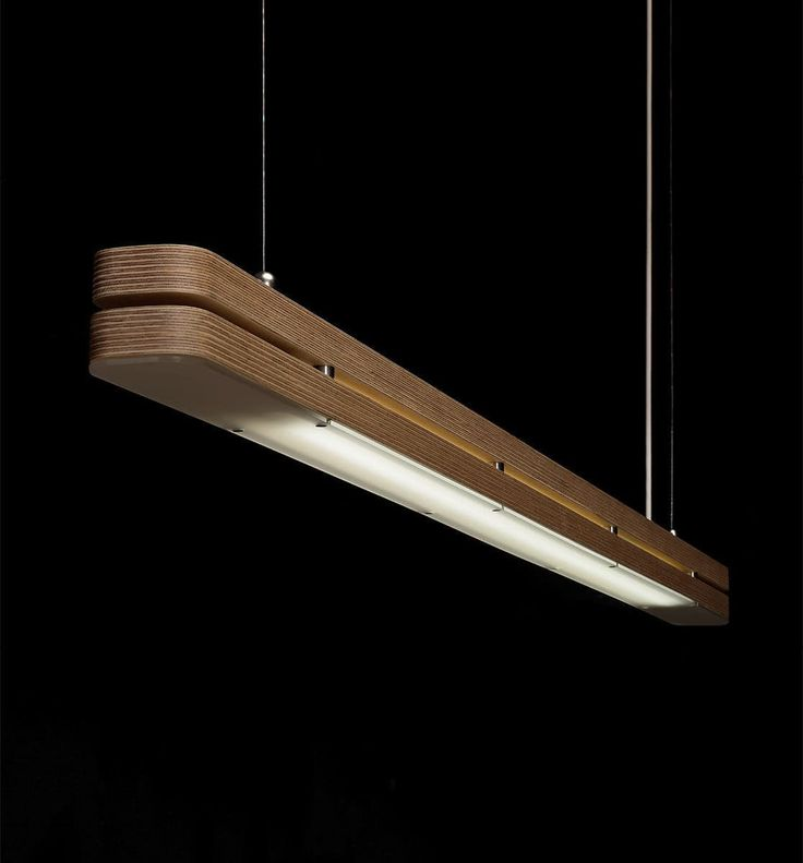 Pendant lamp / contemporary / in wood / LED - STREAM'LITE by Paulo Costa - PLY&co. - Videos #WoodenLamp