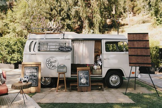 Photo booth bus | Wedding & Party Ideas | 100 Layer Cake