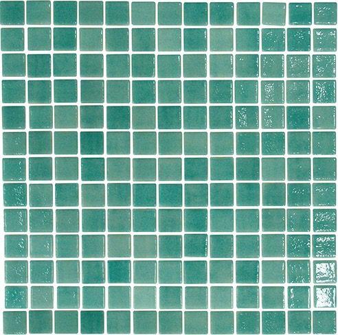 Groen glanzend mozaïek 2,5 x 2,5 cm per m2 online bestellen - TEGELinfo