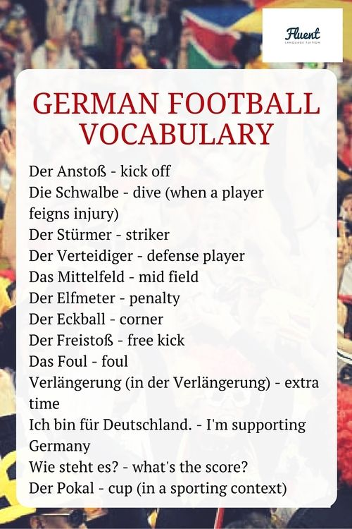 How to Party with the Football Crazy Germans this Month fluentlanguage.co…