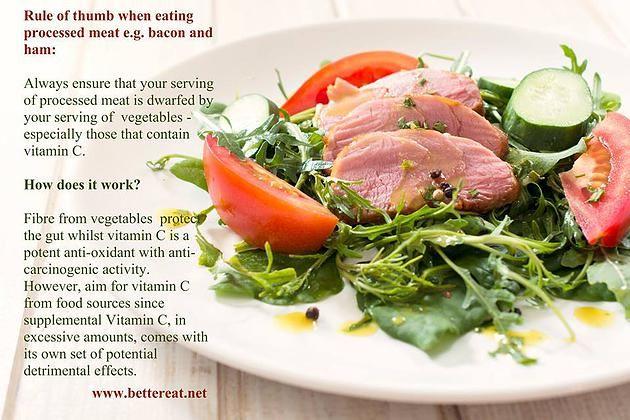 Rainbow Gospel Radio   When eating processed meat...