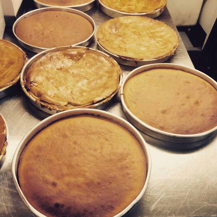 Fresh from the oven. Traditional Apple Pie & our Gluten Free Chocolate Cake.