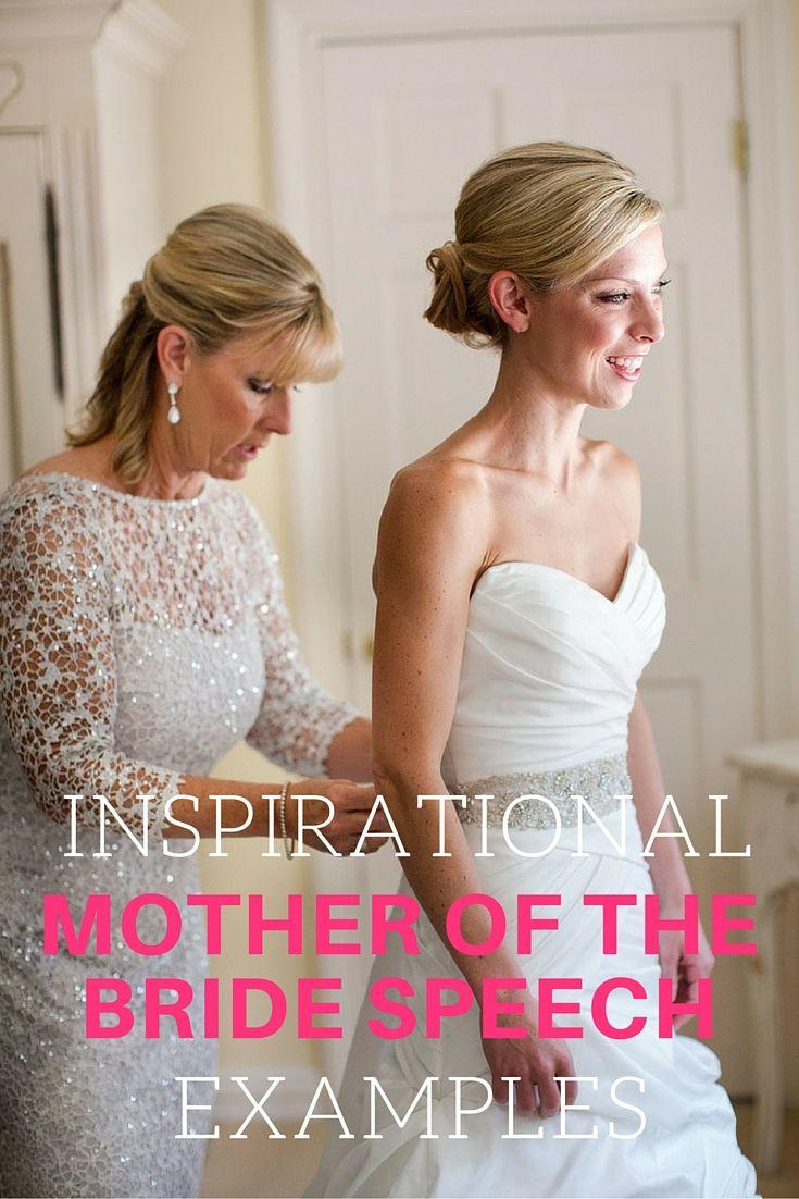 mother of bride speech