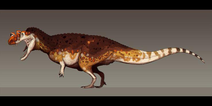 Ceratosaurus dentisulcatus by Paleocolour