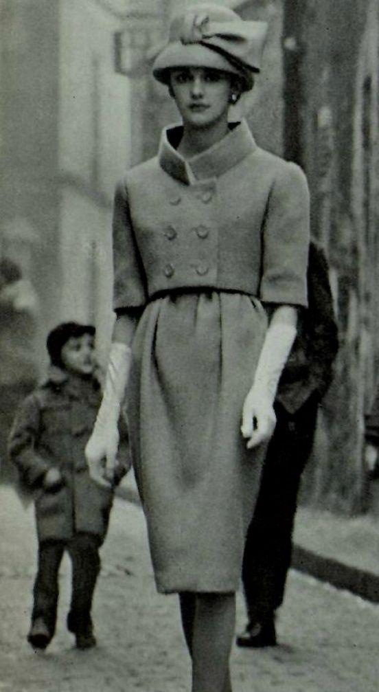 1958 Hubert de Givenchy | Inspirational Vintage Fashion ...