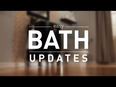 Lowes Guide To Easy Weekend Bathroom Update Projects