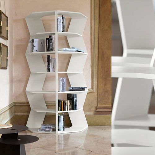 Libreria ZigZag - design Aziz Sariyer - Bline