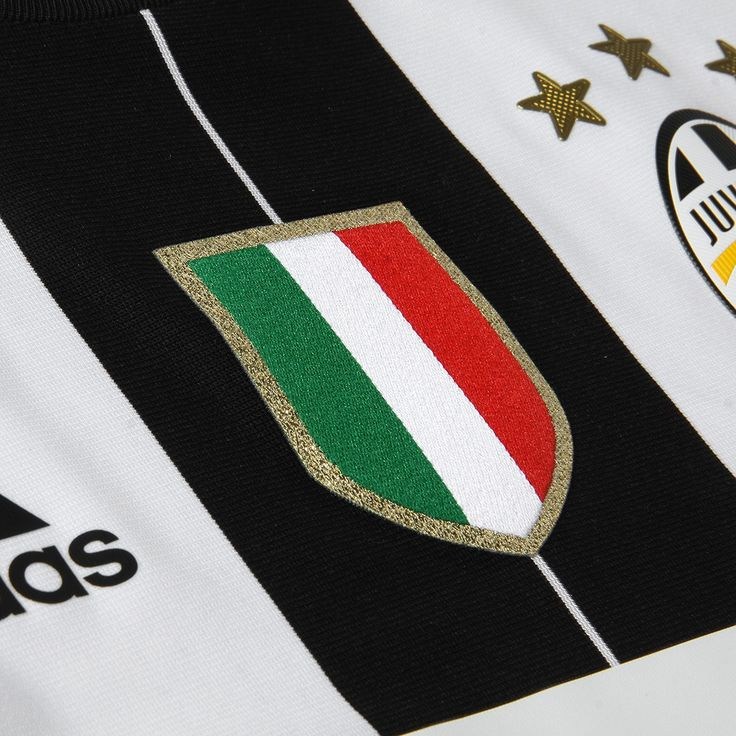 The new Juventus 16-17 home kit reinterprets the traditional black & white stripes of the Juventus kit, with the former dominating the scene. The Juventus 2016-17 jersey was launched on May 14 2016.