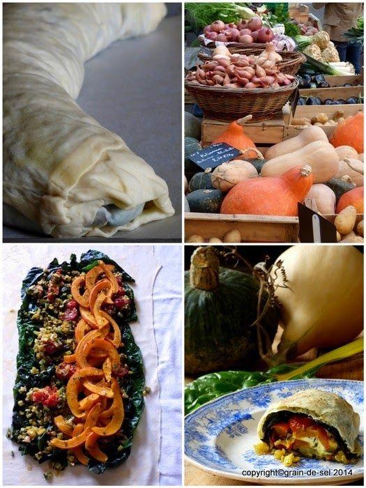 Zu den Pärchen, die stets freudig miteinander harmonieren, gehören Mangold und Kürbis. Wem das bisher entgangen ist als kulinarische Ent...