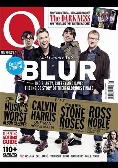 Q'nun son sayısında BLUR ile yapılan röportajı bulabilirsiniz. Q süreli yayınlar koleksiyonunda...