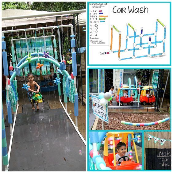 Summer is coming and I bet a lot of you have little tike cars for your kiddos! Here's the perfect do-it-yourself summer project to make for them ~ a kiddie car wash! Toddler Time Tips daycare made one and the kids LOVED it. Get the instructions here. I love how they used pool noodles, kitchen …