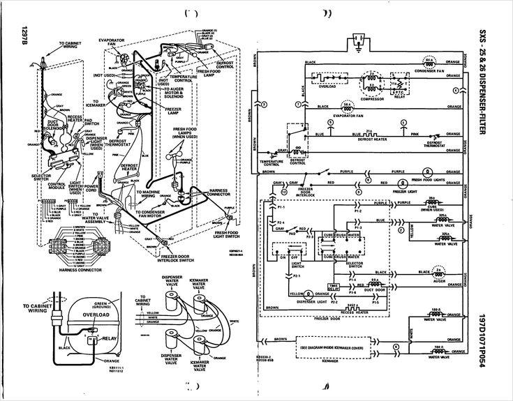 Ge Electric Motor Wiring Diagram, Ge Refrigerator Wiring Diagram