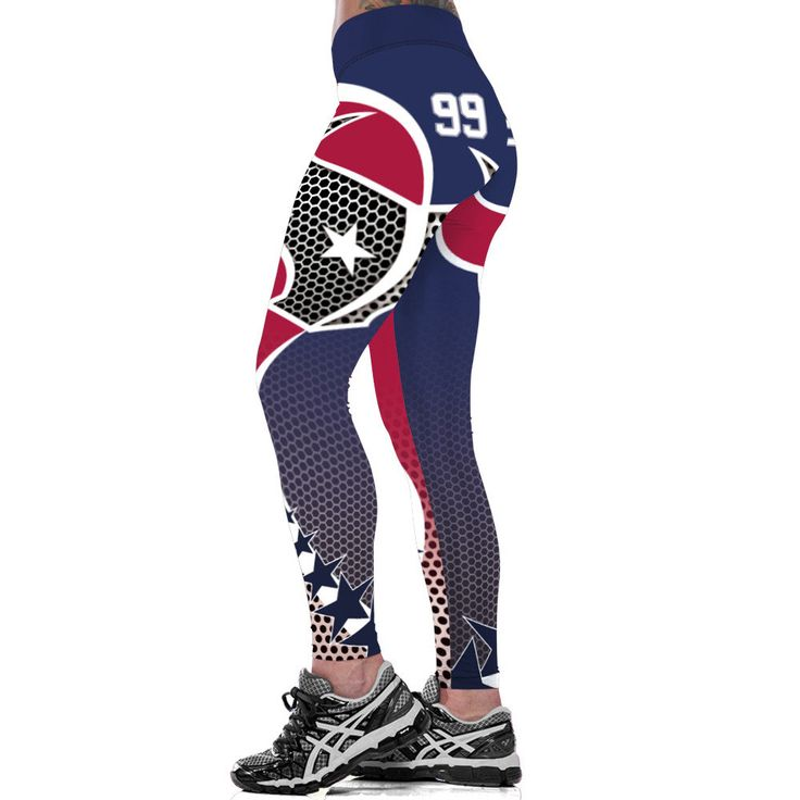 Women's NFL Texans 99 Leggings