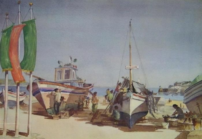 Vendese (by Francis Russell Flint)